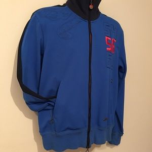 Nike Soccer Zip Up Tiger & Soccer Embroidery